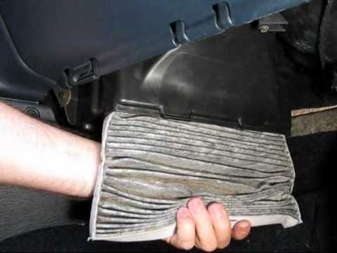 How to Change Cabin Air Filter Chrysler Voyager
