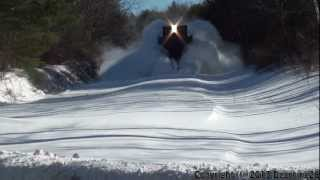 getlinkyoutube.com-(HD) PanAm Railways Snow Plow Extra and an Empty Oil Train