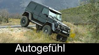 getlinkyoutube.com-New Mercedes G500 4x4 offroad monster driving shots exterior - Autogefühl
