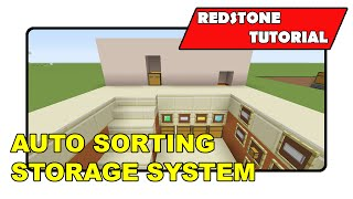 "getlinkyoutube.com-Auto Sorting Storage System [Simple] ""Redstone Tutorial"" (Minecraft Xbox/PlayStation/PS Vita)"