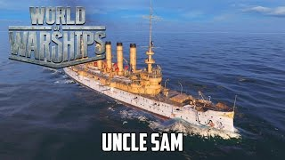 getlinkyoutube.com-World of Warships - Uncle Sam