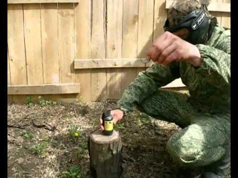 Пейнтбольная граната с активной чекой R2B Paintball grenade
