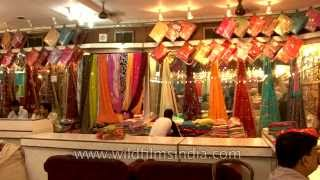getlinkyoutube.com-Banarasi Sarees for sale in Varanasi