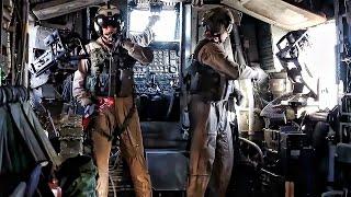 getlinkyoutube.com-Inside A CH-53E Super Stallion During Assualt Support Tactics