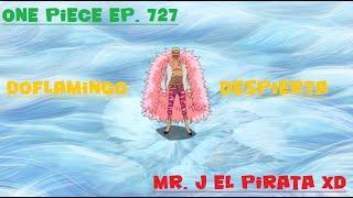 getlinkyoutube.com-One Piece Ep. 727: Doflamingo utiliza y explica el despertar de su fruta del diablo Sub. Español HD