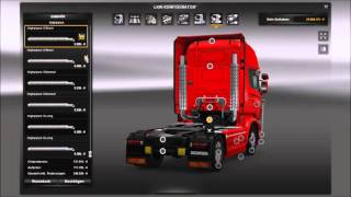 getlinkyoutube.com-[ETS2 v1.21] Scania R & Streamline Modifications + Cabin Accessories DLC