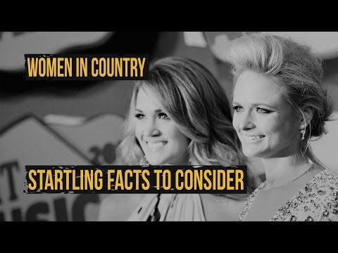 Startling Facts About Women and Country Music - Encore With Billy Dukes