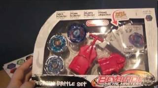 getlinkyoutube.com-Beyblade Metal Masters: Pegasus Battle Set Unboxing!