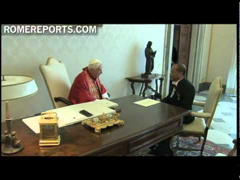 Benedict XVI receives Joseph Tebah-Kla  new Ivory Coast Ambassador to the Vatican