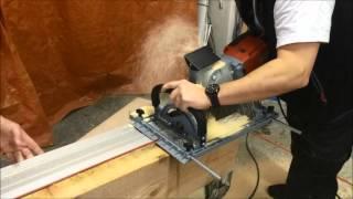 getlinkyoutube.com-Protéza stropního trámu - výroba stroji Mafell