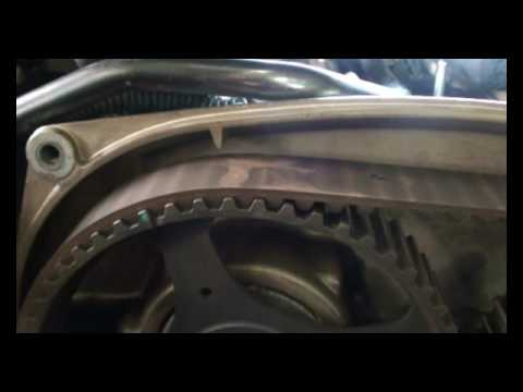 Kia Sorento S 2.4 Выставляем валы