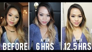 getlinkyoutube.com-REVIEW (13-Hour Test): Estee Lauder Double Wear Stay-in-Place   First Impression
