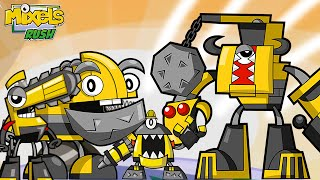 getlinkyoutube.com-Mixels Rush: Series 6 Weldos Max Land ALL levels - Cartoon Network Games
