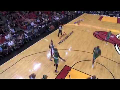 Dwyane Wade Dunk on Ray Allen - Game 3 Round 1 Play-Off 2010