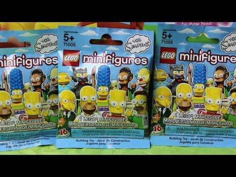los simpsons lego mini figuras blind bags lego bolsitas sorpresa mundo