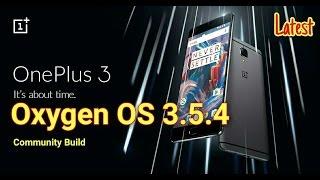 getlinkyoutube.com-Oneplus 3: Oxygen OS 3.5.4 latest Update