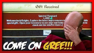 getlinkyoutube.com-GREE GIVING 1000 GEMS & DF TO INACTIVE PLAYERS?!? Knights and Dragons Facepalm!