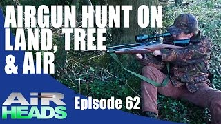 getlinkyoutube.com-Airgun hunt on land, tree, and air - AirHeads episode 62