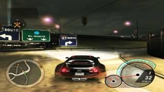 getlinkyoutube.com-Bugatti Veyron 400km/h - Nfs Underground 2