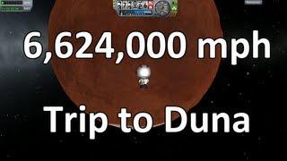 getlinkyoutube.com-Kerbal Space Program - Launchpad to Duna in 35 minutes
