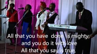 Wewe ni zaidi Worship with lyrics Song by Eric Smith