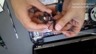 getlinkyoutube.com-تغير مفصلات اللاب توب المكسورة - repair laptop hinge broken
