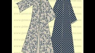 getlinkyoutube.com-طريقة مبسطة لقص عباية ذات أربع قطع  Drawing Pattern Abaya