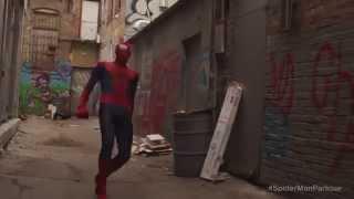 getlinkyoutube.com-بالفيديو ... ظهور سبايدر مان الحقيقي في شوارع امريكا ... وكالة كان