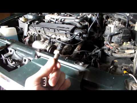 Rover 214i Замена датчика температуры антифриза