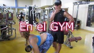 getlinkyoutube.com-un día en el gym | Daviss Online