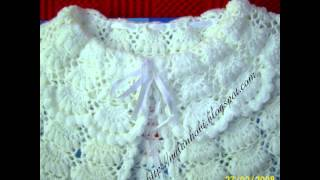 getlinkyoutube.com-VERY EASY crochet cardigan / sweater / jumper tutorial - baby and child sizes 16