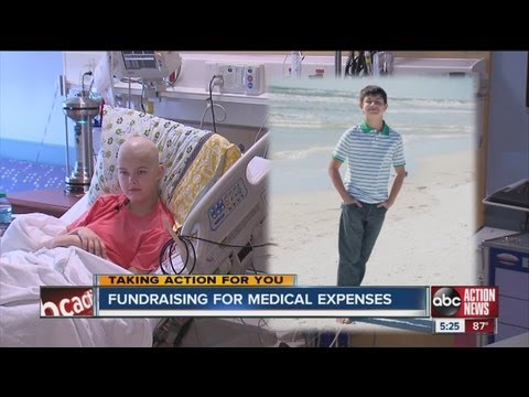 Two local teens help each other raise money for out-of-pocket expenses related to cancer treatment