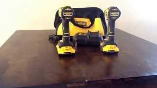 getlinkyoutube.com-Review :||| Dewalt Brushless 20v Max Drill/Impact Set