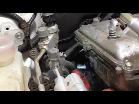 Замена прокладки ГБЦ (головки блока цилиндров) Toyota Prius 30 Часть 3