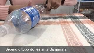 getlinkyoutube.com-Como fazer peso de porta usando garrafa pet