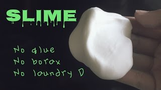 getlinkyoutube.com-How to make slime w/o glue, borax, & laundry detergent
