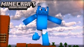 ‹ Minecraft PE 0.13.0 › PARKOUR NO POCKET EDITION