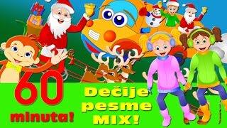 Dečije pesme MIX - Jaccoled žurka! (60 minuta) | Točkovi autobusa, Porodica Prstići NG, Zima, zima