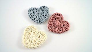 getlinkyoutube.com-How to Crochet a Heart