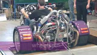 getlinkyoutube.com-Leon's Twin Turbo VW Powered Trike on the Dyno