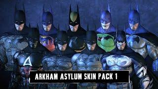 getlinkyoutube.com-SKIN; Batman; Arkham Asylum; Batman Skins Pack