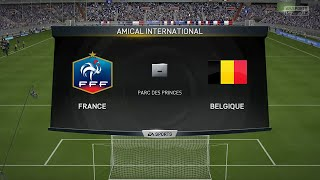 getlinkyoutube.com-France - Belgique [FIFA 15] | Match Amical | CPU Vs. CPU