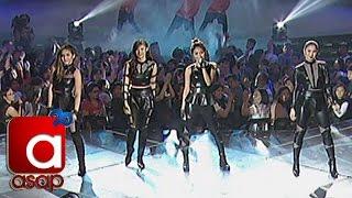 "getlinkyoutube.com-Kathryn, Julia, Janella, Liza sing ""Bad Blood"" on ASAP"