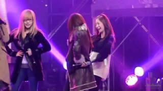 getlinkyoutube.com-[Fancam] 101217 Yoona SNSD - Hoot rehearsal@MB