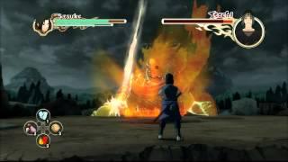 getlinkyoutube.com-Naruto Shippuden: Ultimate Ninja Storm 2 - Sasuke vs Itachi Boss Battle [PS3]