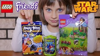 getlinkyoutube.com-[JOUET] Angry Birds Stars Wars, Zombie Zity, Lego Friends - Unboxing Angry Birds & Lego Friends