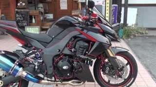 豪快レッド  赤い新風 2010 Z1000 Ninja kawasaki