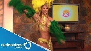 getlinkyoutube.com-Samba con el ritmo Brasileiro de Juliana / Baile brasileño