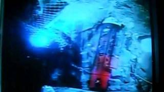 getlinkyoutube.com-CHILE: LAST PERSON UNDERGROUND IN MINE, CHILEAN RESCUE WORKER LOADING IN & GOING UP