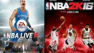 getlinkyoutube.com-Nba2K16 vs Nba Live 16 Trailer Comparison